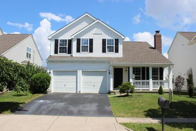 New Albany Single Family Home Contingent Finance And Inspect: 5960 Wilderness Drive