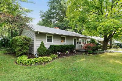 Hilliard Single Family Home Contingent Finance And Inspect: 5216 Gaymon Drive