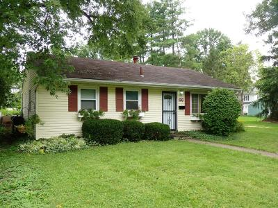 Westerville Single Family Home Contingent Finance And Inspect: 66 Weyant Street