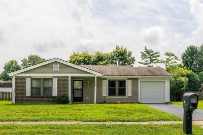 Reynoldsburg Single Family Home Contingent Finance And Inspect: 6987 Blackoak Drive