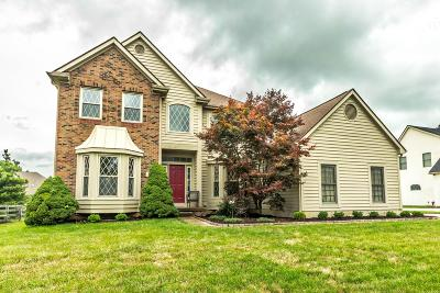 New Albany Single Family Home Contingent Finance And Inspect: 1372 Bingham Mills Drive