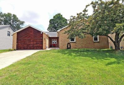 Reynoldsburg Single Family Home Contingent Finance And Inspect: 372 Jonell Lane