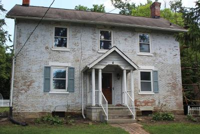 Single Family Home For Sale: 420 E Johnstown Road