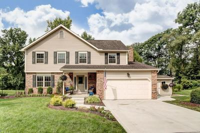 Gahanna Single Family Home Sold: 212 Cam Court