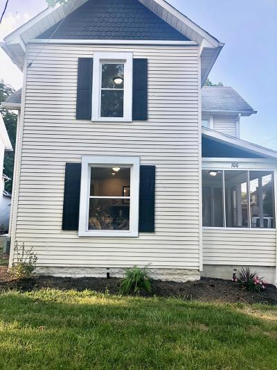 Delaware Single Family Home For Sale: 100 Griswold Street