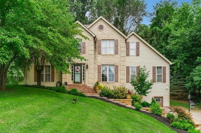Lancaster Single Family Home Contingent Finance And Inspect: 1370 Lancaster Kirkersville Road NW