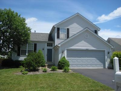 Lewis Center Single Family Home Contingent Finance And Inspect: 9044 Ellersly Drive