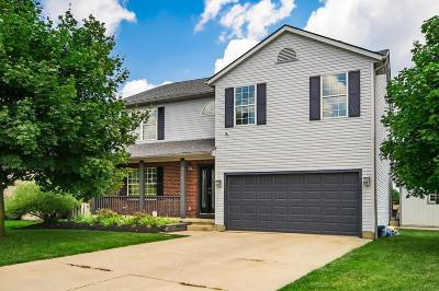 Grove City Single Family Home Contingent Finance And Inspect: 4290 Lemon Lake Court