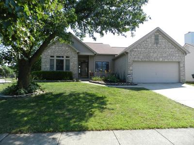 Canal Winchester Single Family Home Contingent Finance And Inspect: 3454 Makady Court