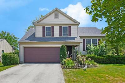 Hilliard Single Family Home Contingent Finance And Inspect: 3687 Carriage Run Drive