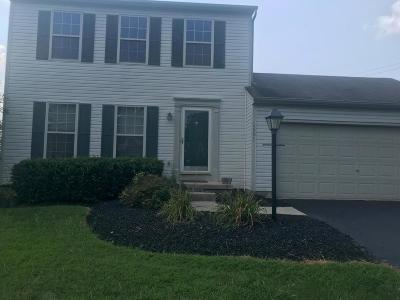 Hilliard Single Family Home Contingent Finance And Inspect: 4581 Kriggsby Boulevard