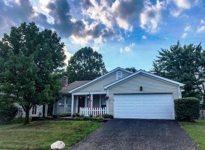Pickerington Single Family Home Contingent Finance And Inspect: 2973 Stone Mountain Drive