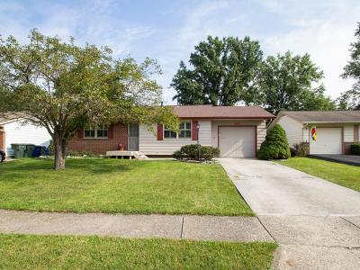 Reynoldsburg Single Family Home For Sale: 6604 Kings Charter Road