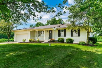 Hilliard Single Family Home Contingent Finance And Inspect: 8320 Carter Road