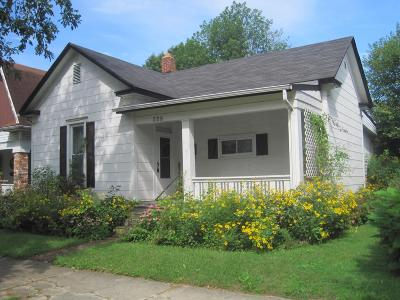 Washington Court House OH Single Family Home For Sale: $59,900
