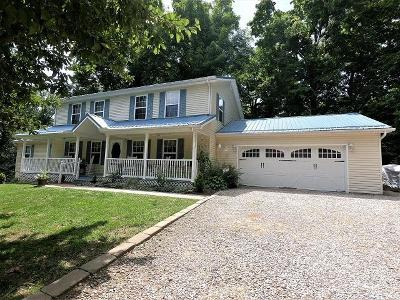 Lancaster Single Family Home Contingent Finance And Inspect: 1925 Becks Knob Road SW