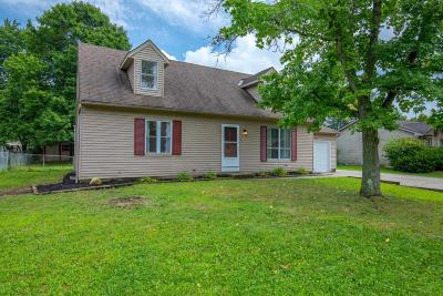 Reynoldsburg Single Family Home Contingent Finance And Inspect: 1250 Addison Drive