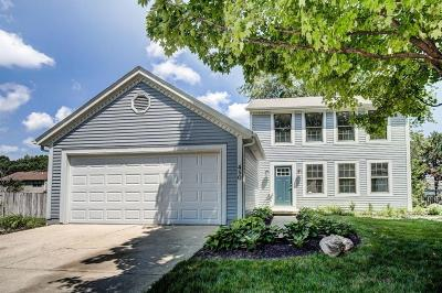 Gahanna Single Family Home Contingent Finance And Inspect: 450 Bluestem Avenue