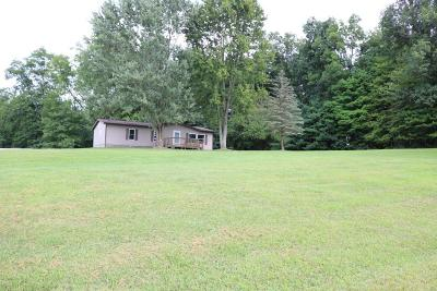 Centerburg Single Family Home Contingent Finance And Inspect: 7236 Tucker Road