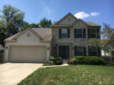Reynoldsburg Single Family Home Contingent Finance And Inspect: 1091 Bergenia Drive