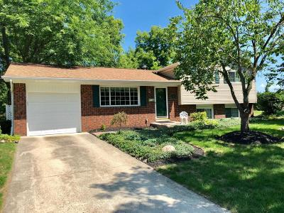 Westerville Single Family Home Contingent Finance And Inspect: 290 Delaware Drive
