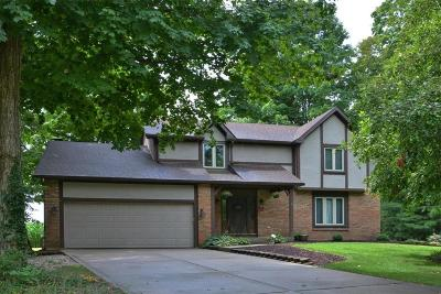 Pickerington Single Family Home Contingent Finance And Inspect: 8735 Ramblewood Court