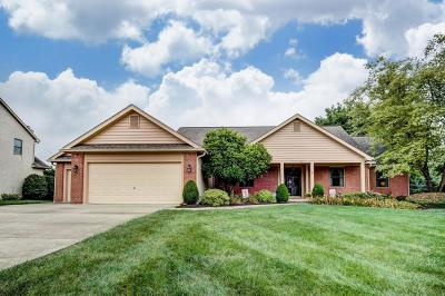 Lewis Center Single Family Home For Sale: 3285 Sunglow Drive