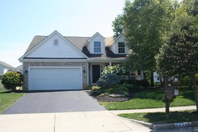 Hilliard Single Family Home For Sale: 4835 Heath Trails Road