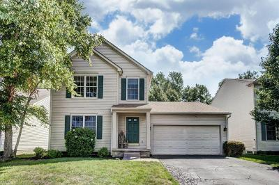 Lewis Center Single Family Home Contingent Finance And Inspect: 8726 Woodwind Drive