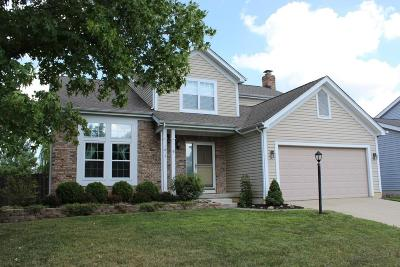 Columbus Single Family Home For Sale: 1612 Fallhaven Drive