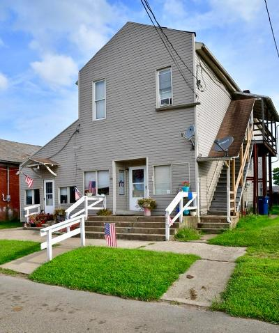 Frazeysburg Multi Family Home Contingent Finance And Inspect: 36 W 2nd Street