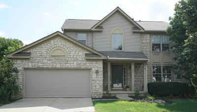 Lewis Center Single Family Home For Sale: 7571 Storrington Place