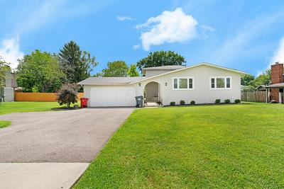 Columbus Single Family Home For Sale: 6053 Renner Road