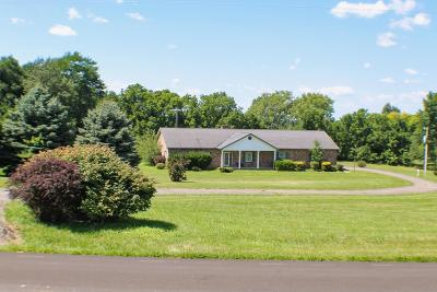 Centerburg Single Family Home Contingent Finance And Inspect: 796 County Road 204