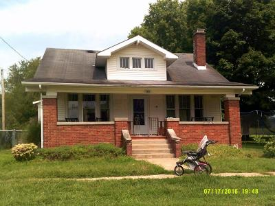 Frazeysburg Single Family Home Contingent Finance And Inspect: 138 W 4th Street