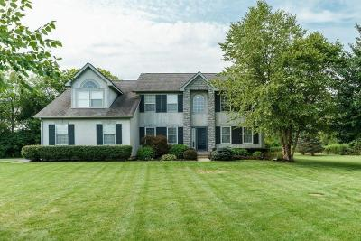 Hilliard Single Family Home For Sale: 4485 Walker Road