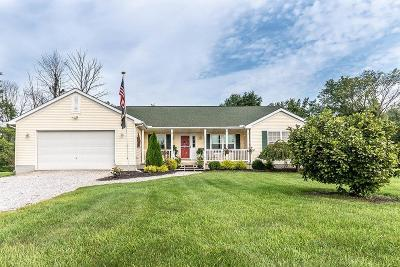 Centerburg Single Family Home Contingent Finance And Inspect: 3043 Lytle Road