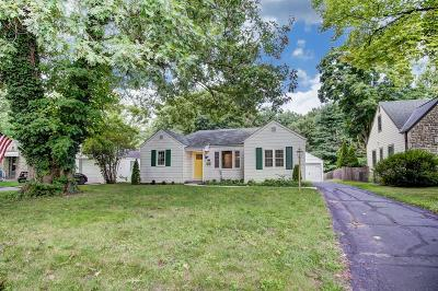 Upper Arlington Single Family Home For Sale: 2969 Mountview Road
