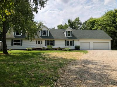 Rushville Single Family Home For Sale: 4289 County Road 62 NW