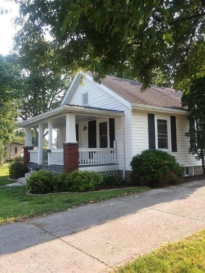 Mount Vernon Single Family Home Contingent Finance And Inspect: 809 Newark Road