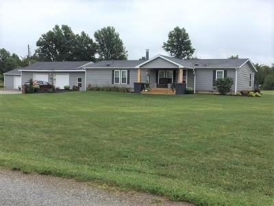 Cardington Single Family Home Contingent Finance And Inspect: 2681 Township Road 254