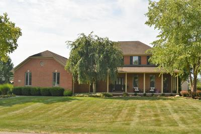 Canal Winchester Single Family Home Contingent Finance And Inspect: 7973 Spring Mill Drive