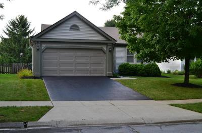 Hilliard Single Family Home Contingent Finance And Inspect: 4948 Hidden View Court