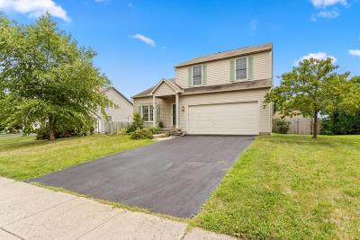 Reynoldsburg Single Family Home Contingent Finance And Inspect: 9201 Firstgate Drive