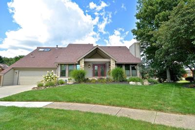 Westerville Single Family Home For Sale: 5534 Moccasin Drive