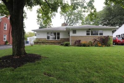 Columbus Single Family Home For Sale: 224 S Chesterfield Road