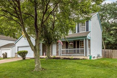 Reynoldsburg Single Family Home For Sale: 8408 Papillon Avenue