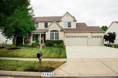 Hilliard Single Family Home For Sale: 5792 Plank Drive