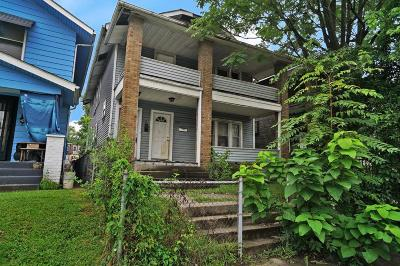 Franklin County Multi Family Home For Sale: 969-971 Oakwood Avenue