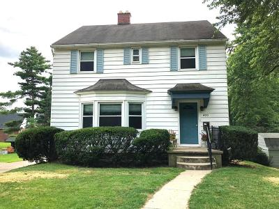 Lancaster Single Family Home For Sale: 400 Edgewood Avenue